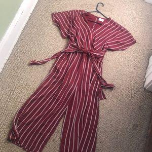 Sienna sky jump suit